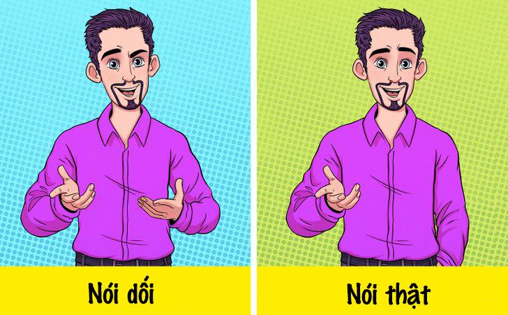 Nhận biết 8 dấu hiệu của người hay nói dối