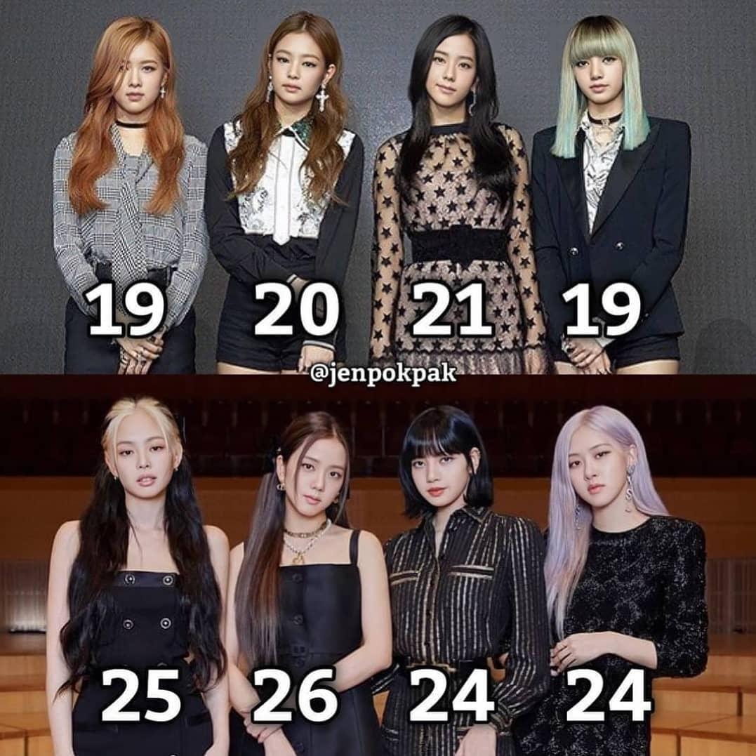 Ra mắt năm 2016, Black Pink dần trở thành nhóm nhạc nữ hàng đầu Hàn Quốc với nhan sắc đồng đều của các thành viên. Thời debut, bộ tứ đang trong độ tuổi đôi mươi, phong cách vẫn còn khá phèn, cách trang điểm, ăn mặc chưa phù hợp. Sau 5 năm, Black Pink trở thành girlgroup dẫn đầu trong lĩnh vực thời trang. Bốn mỹ nhân đều thăng hạng nhan sắc, lăng xê nhiều xu hướng thời trang, làm đẹp thành xu hướng.